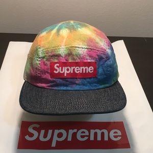 S/S 2013 Supreme Tie Dye Camp Cap
